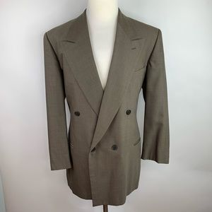 Giorgio Armani Double Breasted Sport Coat 44R